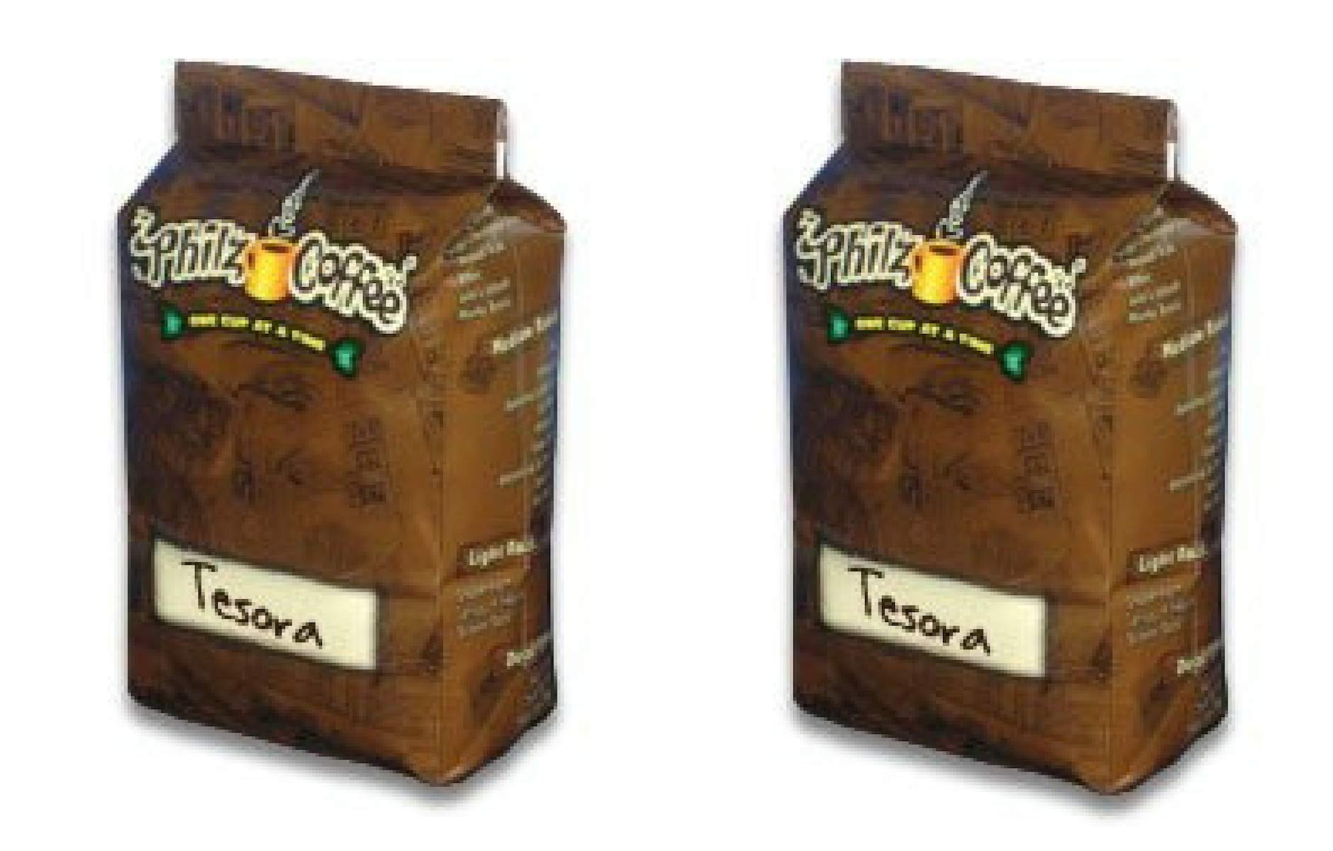 Philz Coffee Tesora 2 pack Medium Roasted Full Bodied Whole Been 24 Ounces of Delicicous Caramel Nuts Butter