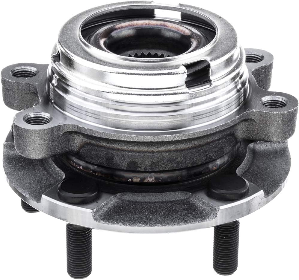 5-Lug Hub Front Right and Left Side Wheel Hub Bearing Assembly for 2009-2013 Nissan Murano 513306-513307 2-Pack Cross Reference: WJB WA513307, WJB WA513306 2011 Nissan Quest