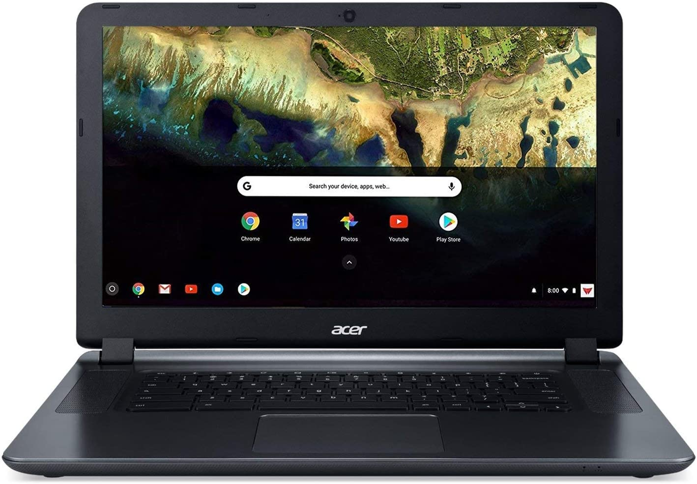 Acer Chromebook 15 CB3-532-C4ZZ, Celeron N3060, 15.6in HD, 4GB LPDDR3, 32GB Storage, Google Chrome (Renewed)