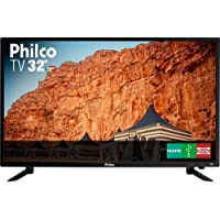 "TV LED 32"" Philco PTV32C30D HD com Conversor Digital 2 HDMI 1 USB 60Hz - Preta"
