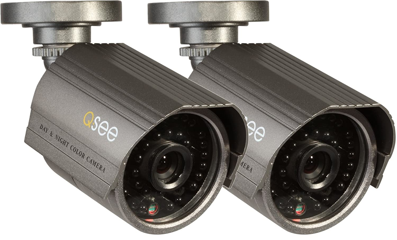 Q-See QM6008B 2-pack CCTV security camera Interior y ...