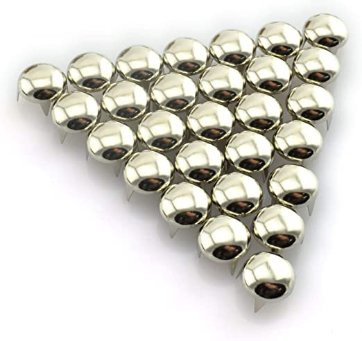 New Best Quality Metal Studs Nailheads Rivet For Leather Craft Cloth Shoe Belt