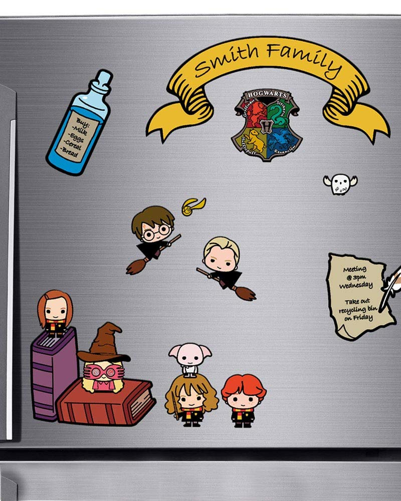 Amazon.com: Harry Potter Juego de imanes para nevera ...