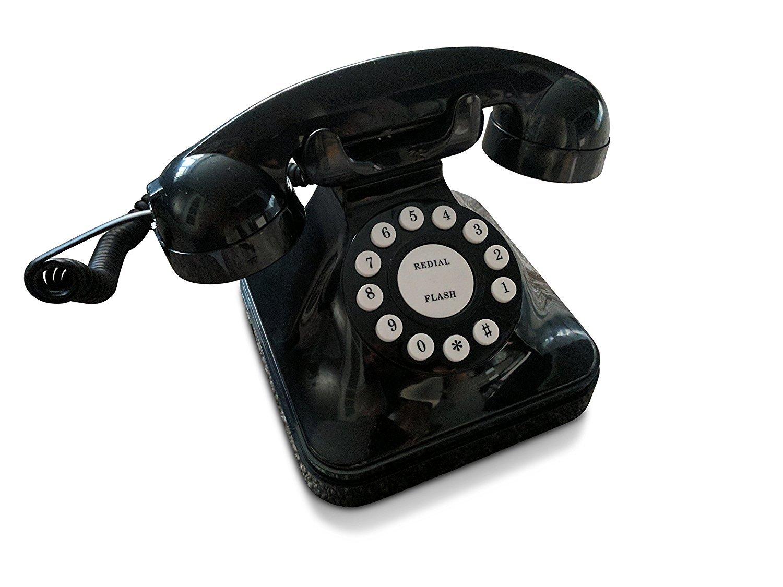 Teléfono fijo de diseño retrohttps://amzn.to/2zT516n
