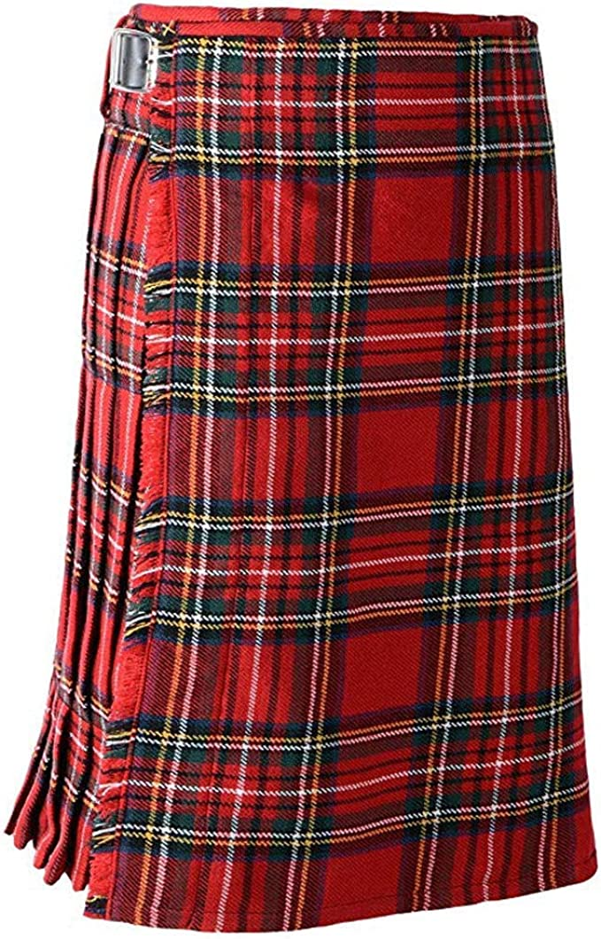 Sex icon Scottish Mens Kilt Traditional Highland Tartan Utility Kilt