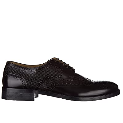 Armani Collezioni / Jeans men's classic leather lace up laced formal shoes derby