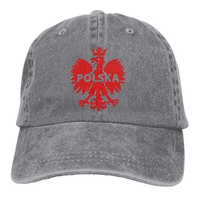 Eagle Polska Polonia Denim Hat Ajustable para Hombre Vintage Gorras de béisbol: Amazon.es: Ropa y accesorios