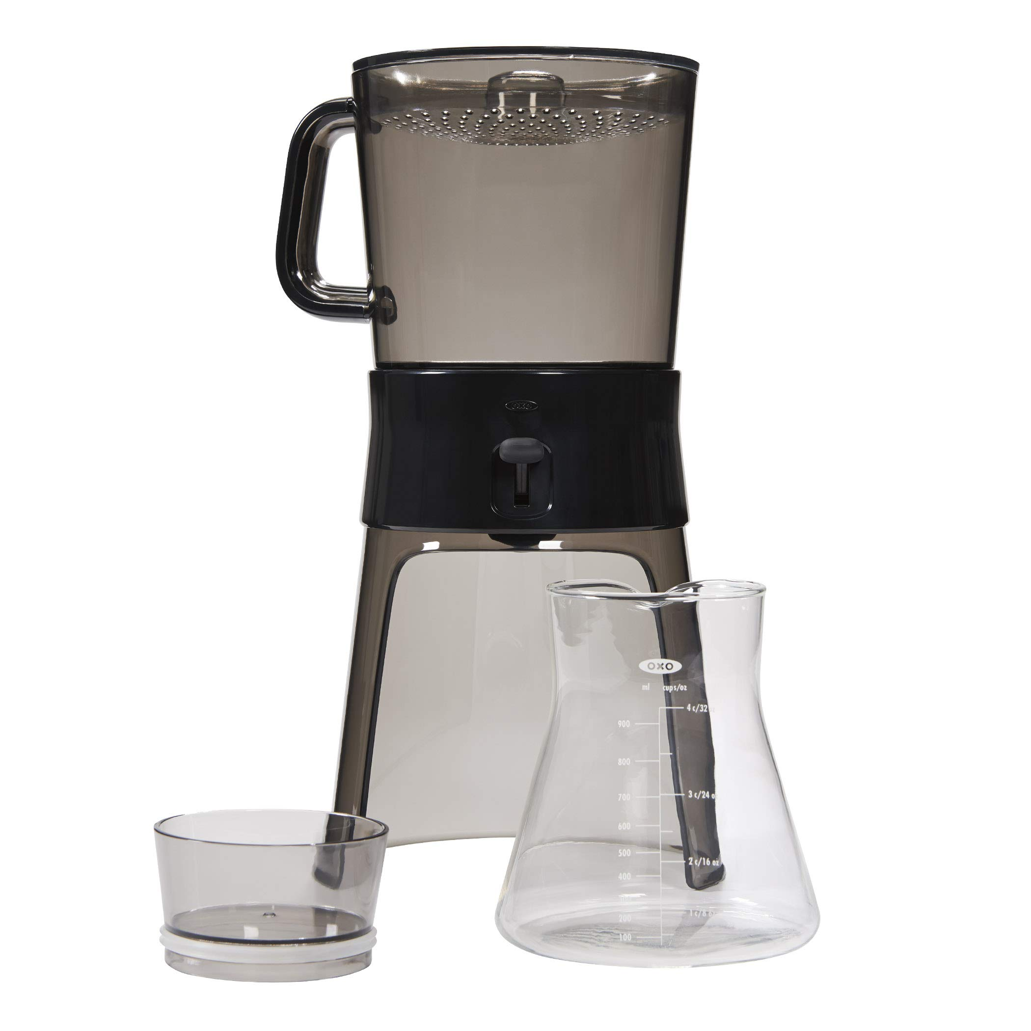 OXO BREW Cold Brew Coffee Maker (32 Ounces) with 10 Paper Filters by OXO