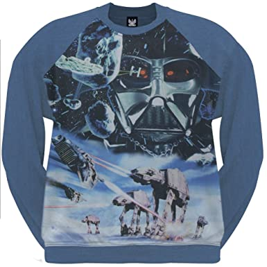 Amazon.com: Star Wars - Vintage Hoth Sublimation Crewneck ...