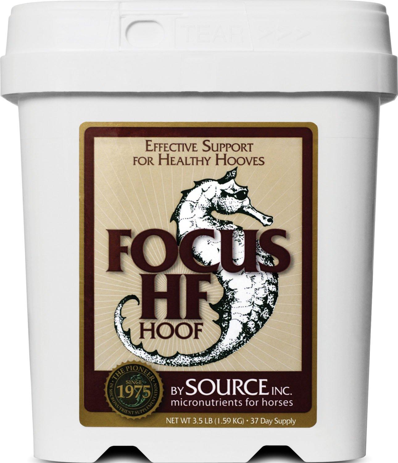 SOURCE 573935 Focus Hf Hoof micronutrient for Horses, 3.5 lb