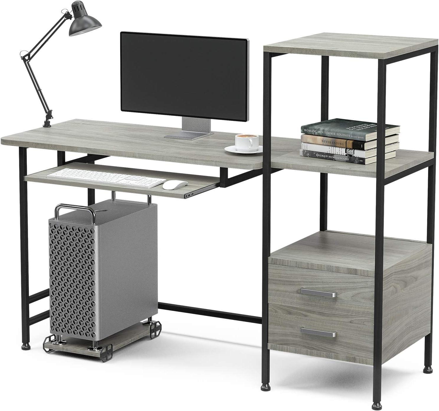 Home Office Desk Mecor Study Writing Computer Desk 55