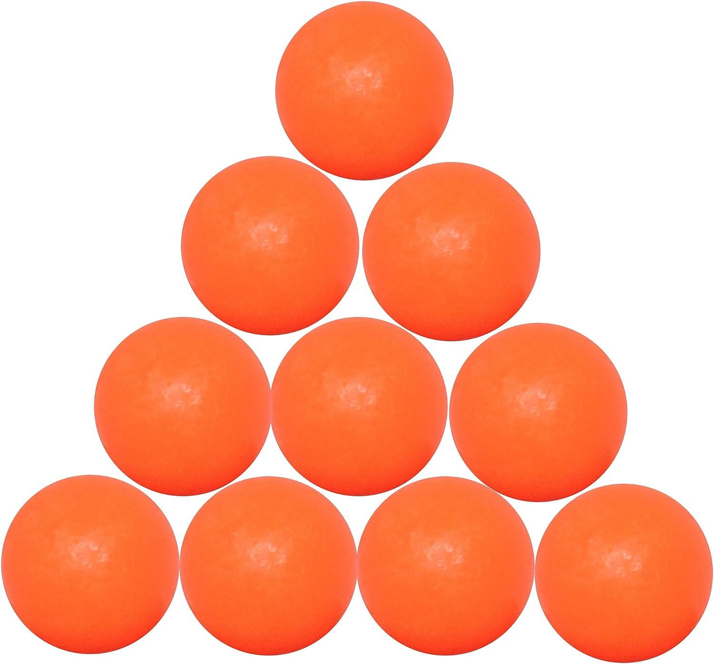 FAS 10 Bolas futbolín Naranja gal19ars con Bolsa de plástico ...
