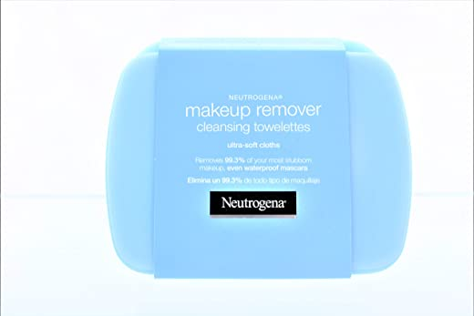 Neutrogena Makeup Remover Cleansing Towelettes, 25 Each (Pack of 3)
