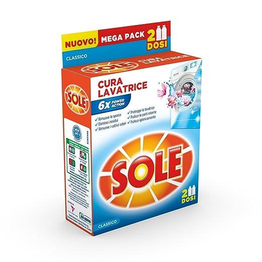 29 opinioni per Sole Cura Lavatrice - 7 confezioni da 2 pezzi da 250 ml [14 pezzi, 3500 ml]