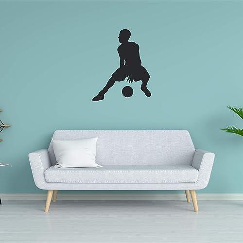Amazon.com: Basketball Wall Sticker, Multiple Sizes, Stitch ...