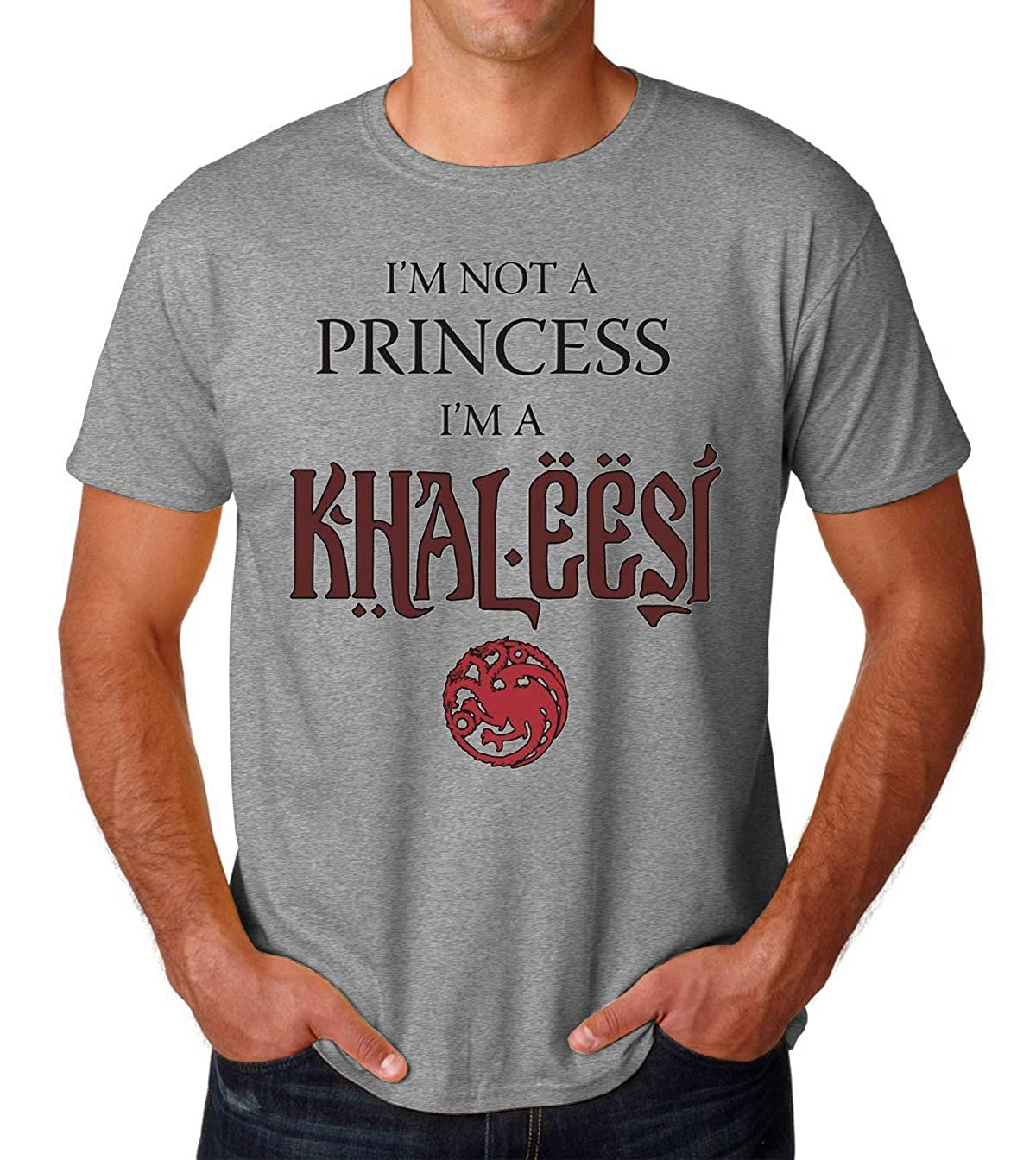 Im Not A Princess Im A Khaleesi Black and Red Game of Thrones ...