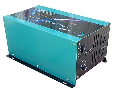 Inversor 3000W 12V to AC 230V pure power Inverter LF De Onda Pura Convertidor 12v