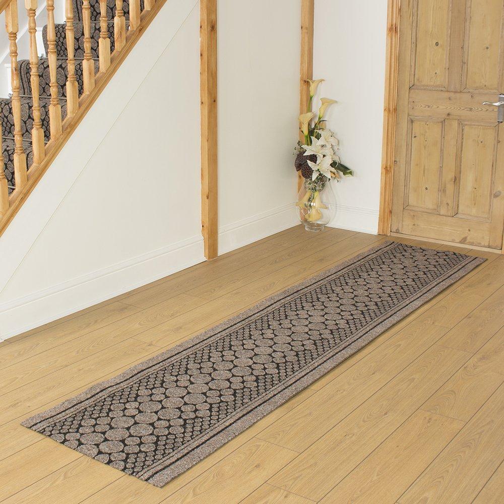 Cork Brown - Long Hall & Stair Carpet Runner Carpet Runners UK
