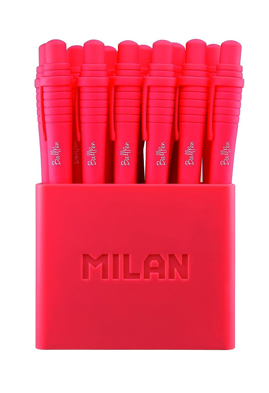 Milan 17657010319 Sway Pot de 19 Stylos Bille Rouge