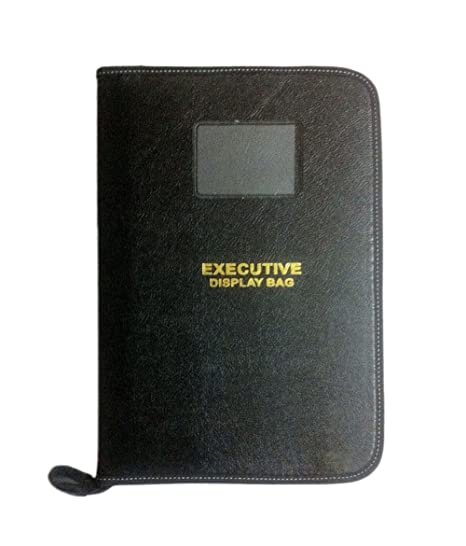 5dfffc83935 Amazinghind Black Executive File document Folder Documents File Folder Portfolio  Folder-20 Leafs  Amazon.in  Office Products