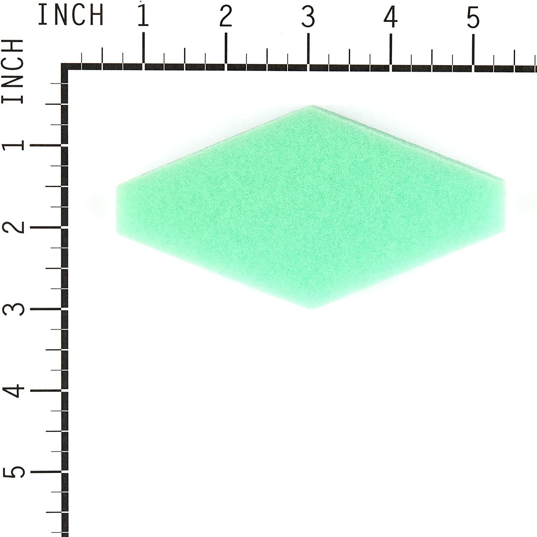 passend f/ür Briggs /& Stratton 28D702-1142-E1 Motor f/ür Rasentraktor 1x Papierfilter, 1x Schaumfilter vhbw Filterset