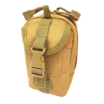 0e923b8dd342 Amazon.com : Jili Online Camping Hiking Utility MOLLE Gadget Pouch ...