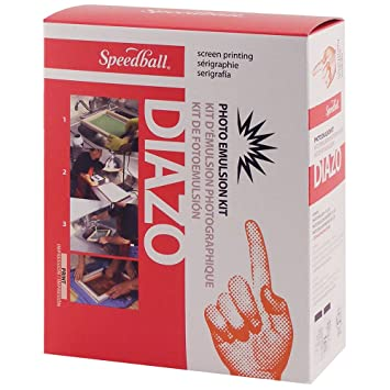 Speedball Diazo Photo Emulsion Kit Arts & Crafts at amazon