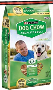 Purina Dog Chow Complete Adult Dog Food (20 lb. Bag)