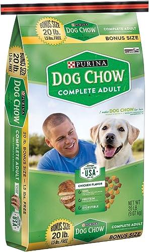 Purina Dog Chow Complete Adult Dog Food 20 lb. Bag