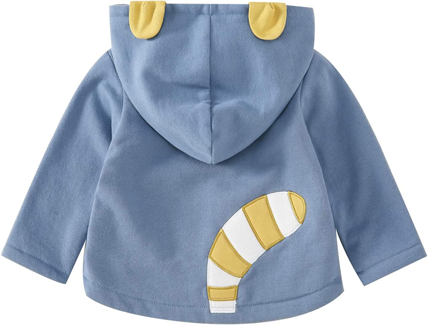 pureborn Infant Toddler Baby Boys Long Sleeve Hooded Jacket Warm Coat Outfit