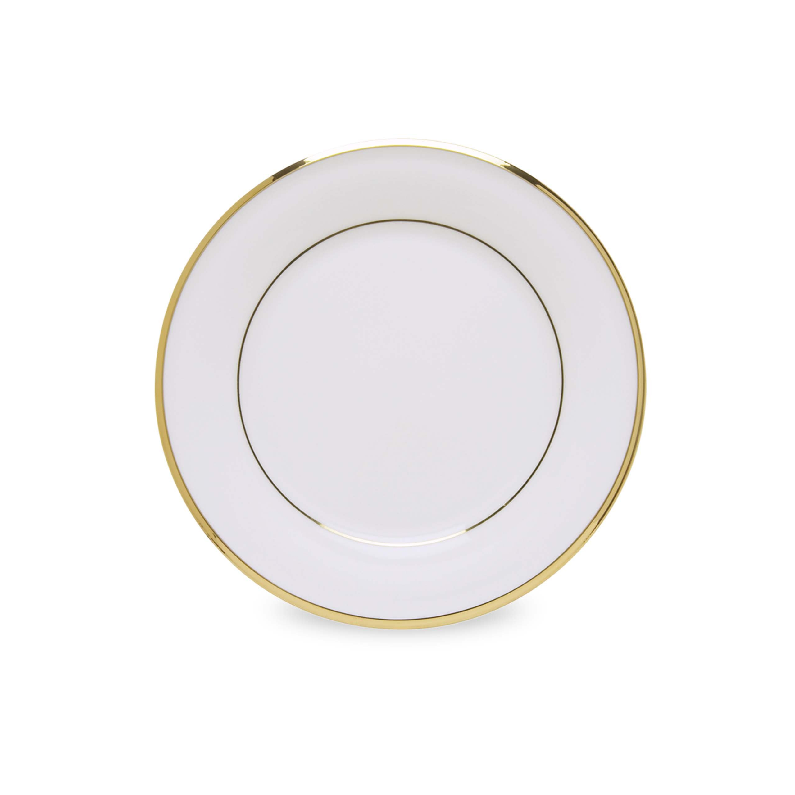 Lenox Eternal White Gold Banded Bone China Butter Plate