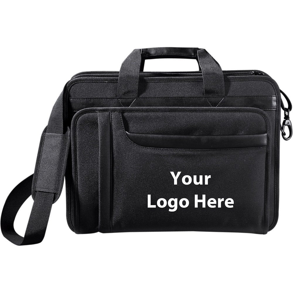 Paragon 15'' Computer Attaché - 12 Quantity - $50.60 Each - PROMOTIONAL PRODUCT / BULK / BRANDED with YOUR LOGO / CUSTOMIZED