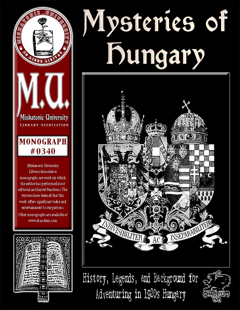 Mysteries of Hungary (M.U. Library Assn. monograph, Call of Cthulhu #0340)