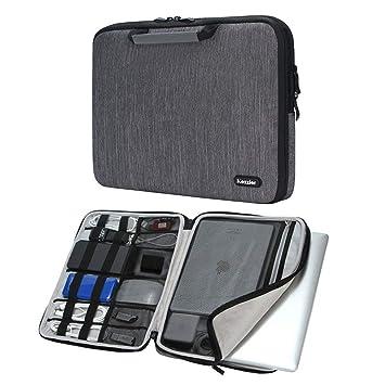 Cozzier 13.3-14 Pulgadas Handle Funda para portátil/Accesorios electrónicos Bolsa de Almacenamiento 14