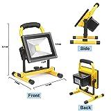 D&F 20W LED Work Light, IP65 Waterproof Outdoor