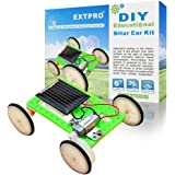 Extpro DIY Assemble Toy Set Solar Powered Car Kit Science Educational Kit for Boys, Kids, Students