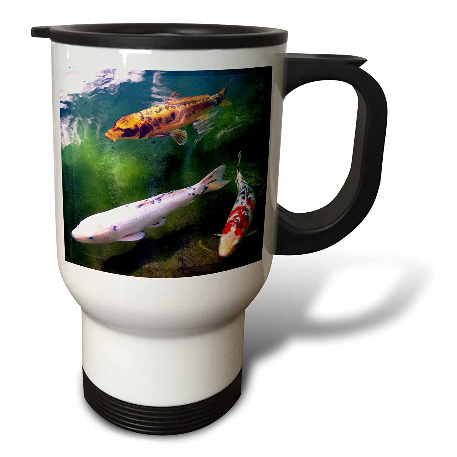 Buy 3drose Chinese Koi Carp Fish Travel Mug 14 Ounce Online At Low Prices In India Amazon In