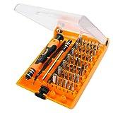 Kit Cacciaviti 45 in 1 Magnetico cacciaviti di Precisione Professionale con 45 Kit,Set Giraviti di Riparazione per Macbook, PC, iPhone, iPad, Orologi, Occhiali,Telefono e ecc.