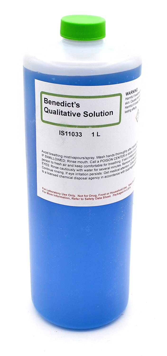 Qualitative Benedict's Solution, 1L - The Curated Chemical Collection