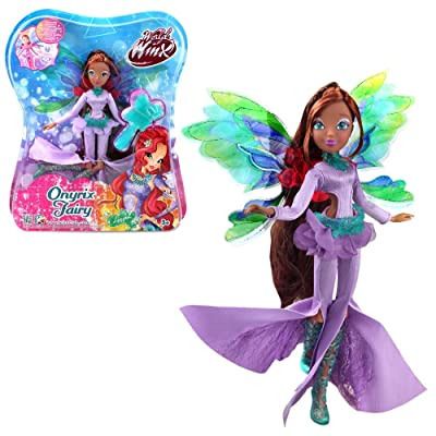 Winx Club Winx Layla | Onyrix Fairy Doll World of | Magic Twist: Toys & Games