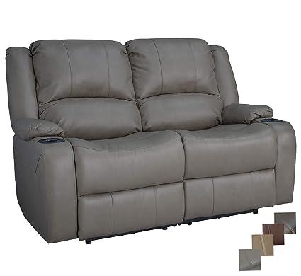 Super Recpro Charles 58 Powered Double Rv Wall Hugger Recliner Sofa Rv Loveseat Putty Customarchery Wood Chair Design Ideas Customarcherynet