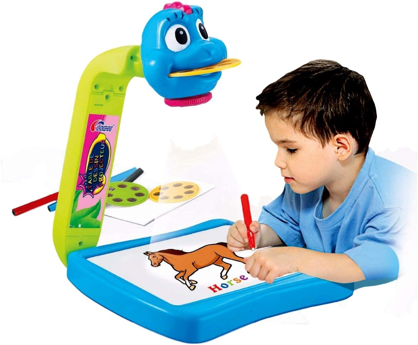 Amazon.com: LOZUSA Learn to Draw for Kids Projector ...