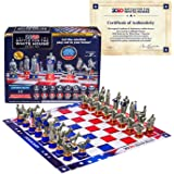 As Seen On TV Collector's Edition 2020 Battle for The White House Chess Set Board Game by BulbHead - Chess Pieces Look…