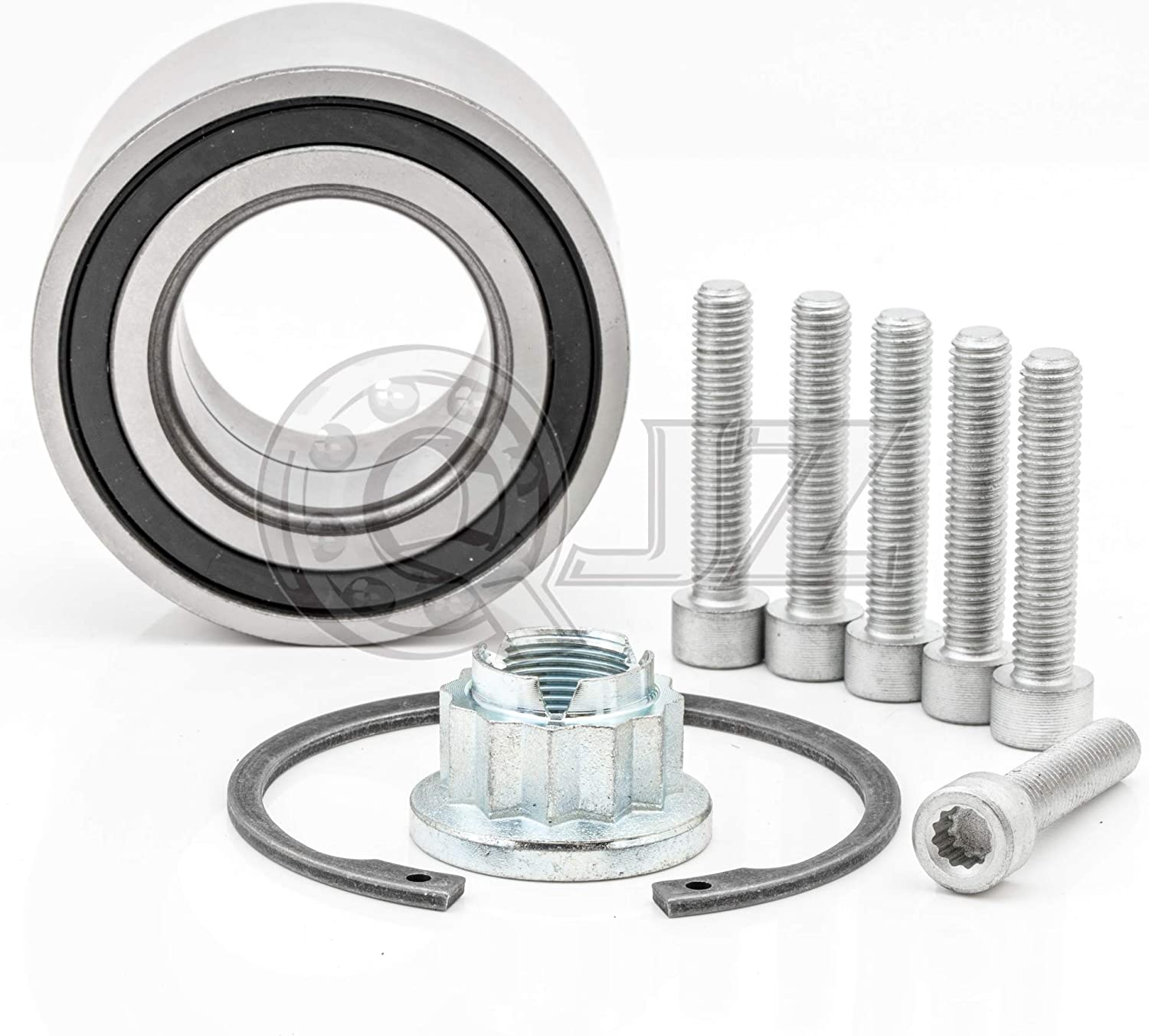 2007-2011 Audi Q7 510082K Wheel Bearing with Fixing Kit for 2003-2009 Porsche Cayenne Cross Reference: FAG# 7L0498287 2004-2010 Volkswagen Touareg Front Pair or Rear Pair