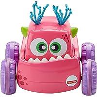 Fisher-Price Coche Monstruito rosa, juguete gateo, bebé +9