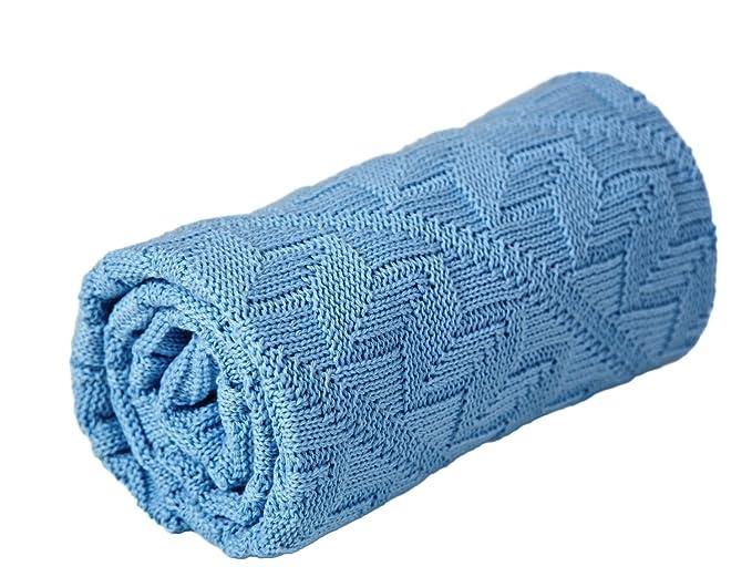 Amazon.com: Sonnenstrick 100% algodón orgánico manta de bebé ...