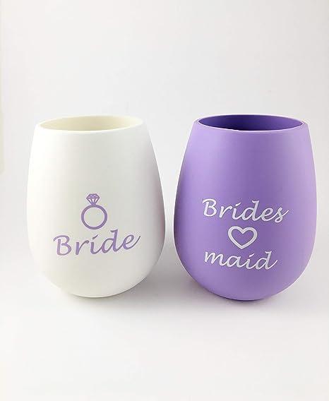 36e2b8f7fd4 Amazon.com | Bride and Bridesmaids Bachelorette Party 10 Piece ...