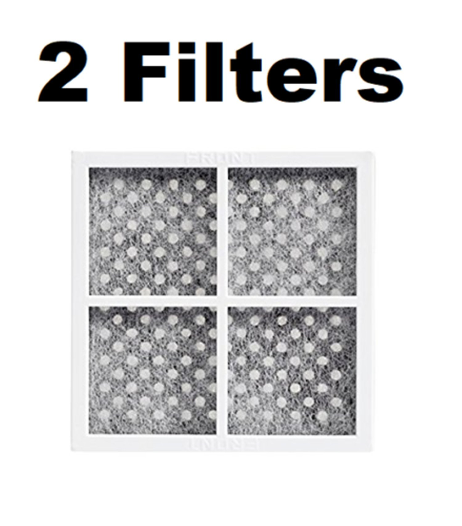 Fresh Air Replacement Refrigerator Air Filter for LG ADQ73214404 2 FILTERS by Pokin (Image #1)