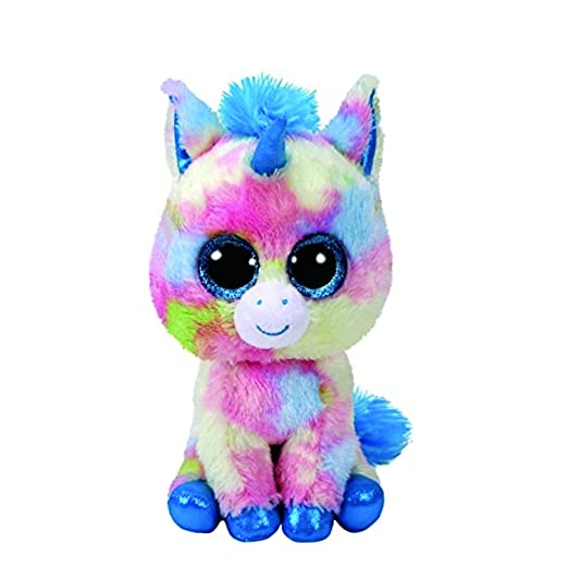 bdebd42a8d6 Image Unavailable. Image not available for. Color  Claire s Girl s Ty  Beanie Boo Small Blitz the Unicorn ...