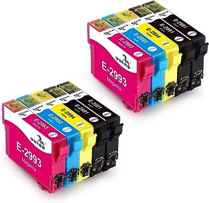 ONINO Cartuchos de Tinta 29xl compatibles con XP-342 XP-452 XP-345 ...
